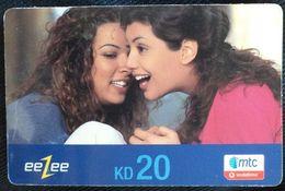 KUWAIT - 20 KD -eeZee Mtc Vodafone - Kuwait