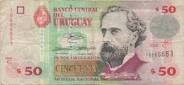 Uruguay : 50 Pesos 2003 Très Mauvais état - Uruguay