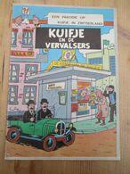 Kuifje En De Vervalsers Parodie Tintin - Kuifje Specials