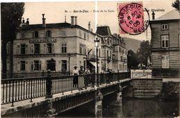 55 . BAR LE DUC .. PONT DE LA GARE . 1905 . .CHEMISERIE REMY .    ( Trait Blanc Pas Sur L'original ) - Bar Le Duc
