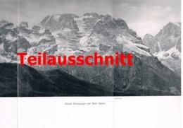 694 Barth Radio-Radiis Brentagruppe Dolomiten 3 Artikel Von 1906-1908 !! - Italy