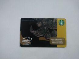 China Gift Cards,200 RMB,  Starbucks, 2018,  (1pcs) - Gift Cards