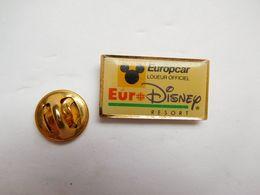 Beau Pin's , Disney , EuroDisney , Europcar - Disney