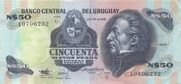 Uruguay : N$50 TBE - Uruguay