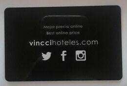 ESPAÑA VINCCIHOTELES. TARJETA LLAVE - KEY HOTEL. - Chiavi Elettroniche Di Alberghi