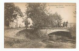 Villers-devant-Orval Route De La Gare Pont Tremblois Carte Postale Ancienne Florenville - Florenville