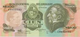 Uruguay : N$100 UNC - Uruguay