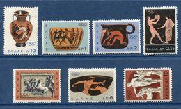 Grèce - YT N° 841 à 847 - Neuf Sans Charnière - 1964 - Greece
