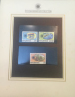 (special) The Commonwealth Collection - Mint Stamps / Timbres Neuf (size 24 X 26cm) Mauritius - History