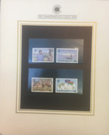 (special) The Commonwealth Collection - Mint Stamps / Timbres Neuf (size 24 X 26cm) Vanuatu - History