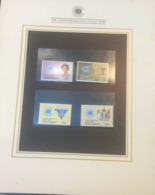 (special) The Commonwealth Collection - Mint Stamps / Timbres Neuf (size 24 X 26cm) New Zealand - History