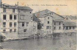 55 BAR LE DUC - LES VIEILLES MAISON PRES DU PONT NOTRE DAMES - Bar Le Duc