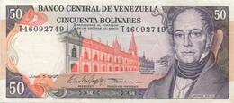Venezuela : 50 Bolívares 1995 Bon état - Venezuela