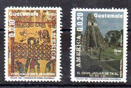 Serie De Guatemala Aéreo N ºYvert 829/30 ** - Guatemala