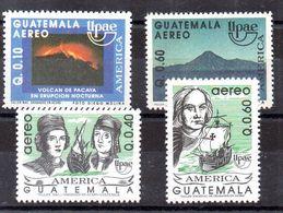 Series De Guatemala Aéreo N ºYvert 838A/B + 839/40 ** - Guatemala