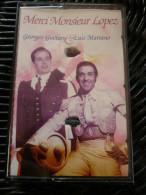 Georges Guétary & Luis Mariano: Merci Monsieur Lopez/ Cassette Eclectic 684 549 - Audiokassetten
