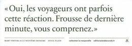 Marque-page - Editions La Table Ronde - ( 8199-A ) - Lesezeichen