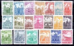 Serie De Costa Rica Aéreo N ºYvert 444/63 ** - Costa Rica