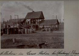 ! Original Foto, Old Photo, Flomaton ( Alabama ), Canoe Station, Harzdestillation, USA, 1904 - Autres