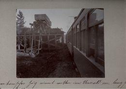 ! Original Foto, Old Photo, Eisenbahn, Kohle, Railway, USA, 1904 - Trenes