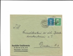 Brief Aus Neustadt 1929 - Cartas