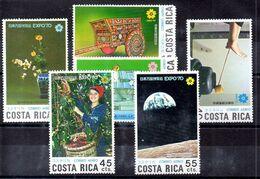Serie De Costa Rica Aéreo N ºYvert 497/02 ** (Nº Yvert 498 Falta Diente) - Costa Rica