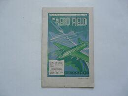 THE AERO FIELD - JAN. 1946 - Libri, Riviste, Fumetti