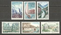 France 1965 Mi 1515-1520 MNH - Unused Stamps