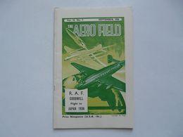 THE AERO FIELD - SEPTEMBER 1950 : R. A. F. - GOODWILL - FLIGHT TO JAPAN 1936 - Libri, Riviste, Fumetti