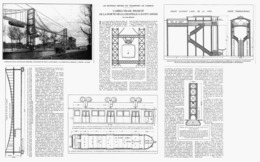 """"""" L'AERO-TRAM """" Projeté  De La PORTE  De La CHAPELLE à SAINT-DENIS 1925 ( 1 ) - Other"""