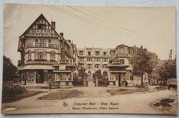 AK DE HAAN Le Coq Bredene Wenduine Bazar Chantecler Hotel Astoria Kust - De Haan