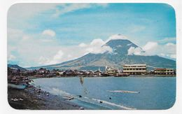 MAYON VOLCANO - LEGASPI - Photo BY PHILIPPINE AIR LINES - FORMAT CPA NON VOYAGEE - Philippines