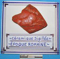Céramique Sigillée Représentant Un Animal. Epoque Romaine. - Archéologie