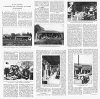 L'INDUSTRIE De L'ESSENCE De ROSE En BULGARIE  1925 ( 1 ) - Perfume & Beauty