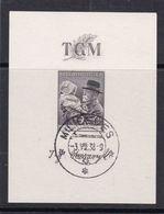 (K 6493) Tschechoslowakei, Block 3, Gest. - Blocks & Sheetlets
