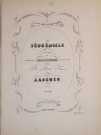 Spartiti - Séguedille - Opera Mosquita Pour Piano Par J. Ascher - Vieux Papiers