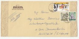 Thailand, Hotel Siam Intercontinental Letter Cover Posted 1983? Rong Mueang Pmk B200725 - Tailandia