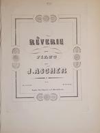 Spartiti - Rêverie Pour Piano Par J. Ascher - Vieux Papiers
