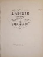 Spartiti - Grand Caprice De Concert - La Traviata De Verdi Per Piano - J. Ascher - Vieux Papiers