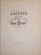 Spartiti - Louise - Polka Brillante - Oeuvres Pour Piano Par J. Ascher - Vieux Papiers