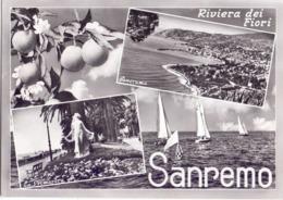 SAN REMO ANNULLO PREMIO INTERNAZ. DI CARDIOLOGIA POST CARD 1961 (AGO200106) - Medicine