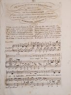 Spartiti - Sonetto Per Canto E Piano - M. Bertorotti - Vieux Papiers