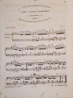 Spartiti - Waltz Patetico Caratteristico Per Canto E Piano - M. Bertorotti - Vieux Papiers