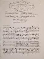 Spartiti - J'aimais Une Jeune Bergere - Chanson Sentimentale - M. Bertorotti - Vieux Papiers