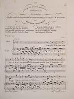 Spartiti - Lorsque D'ici Je Te Vois Sans Cesse - Canto E Piano - M. Bertorotti - Vieux Papiers