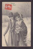 CPA MUNK MM Vienne N° 598 Viennoise Illustrateur Femme Women Circulé - Vienne