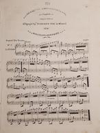 Spartiti - Sei Valzer Caratteristico Per Piano Di M. Bertorotti - Vieux Papiers