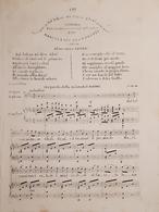 Spartiti - Dal Balcon Mi Disse Clori - Sciarada Pour Canto E Piano M. Bertorotti - Vieux Papiers