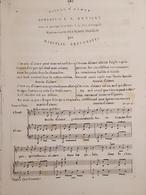 Spartiti - Besoin D'aimer - Romance De J. N. Bouilly - M. Bertorotti - Vieux Papiers