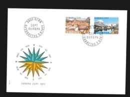 Switzerland 1977 FDC Europa CEPT  (G114-33) - 1977